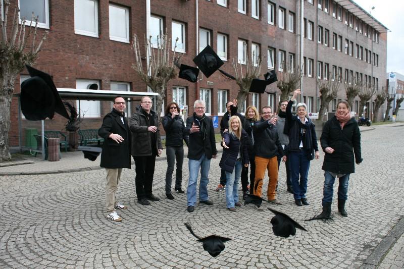 Abschlussfoto Weiterbildung Social Media Manager 28.02.2014