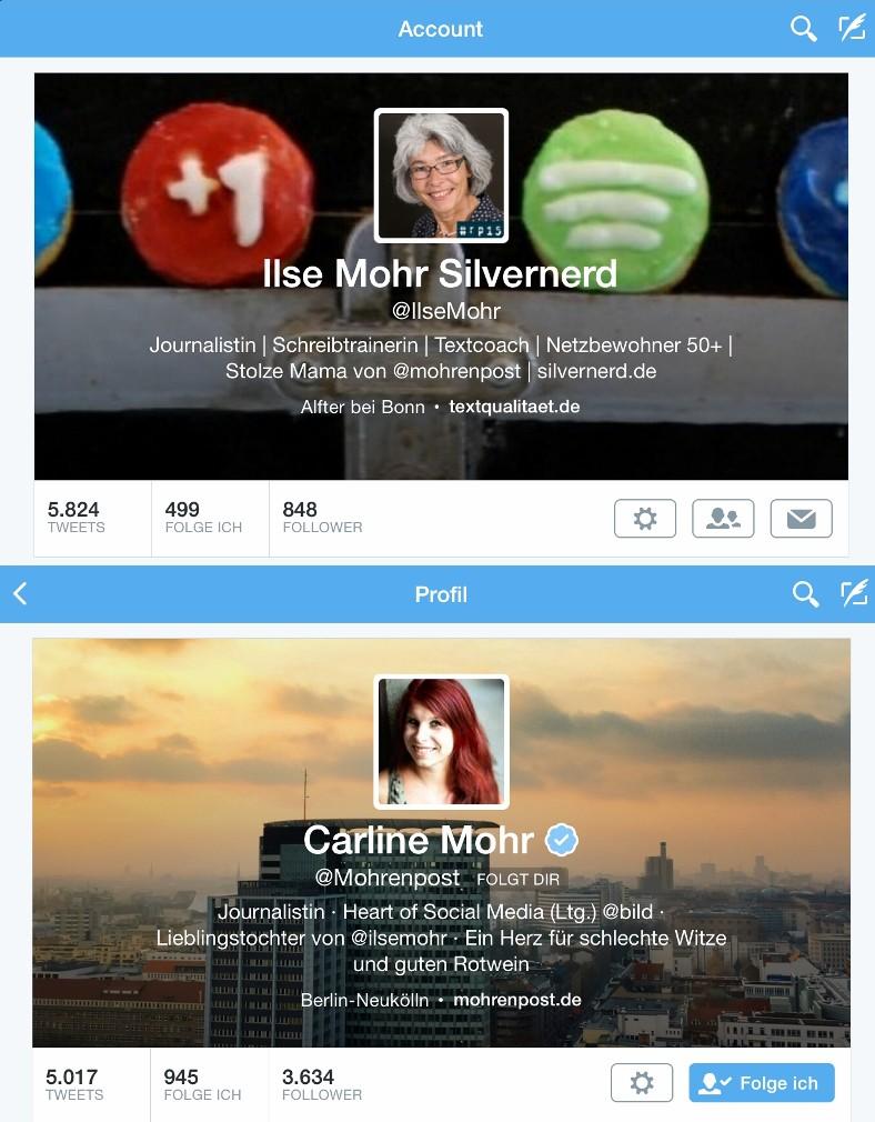 Twitterprofile
